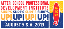 Surf's Up! After School Professional Development Institute