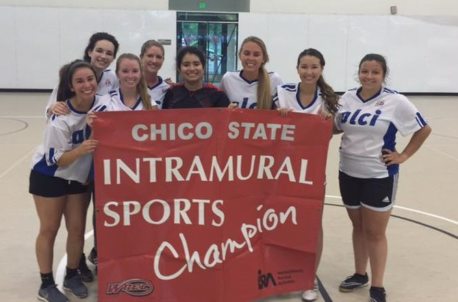 ALCI United Women's Team Chico State Intramural Soccer Champions