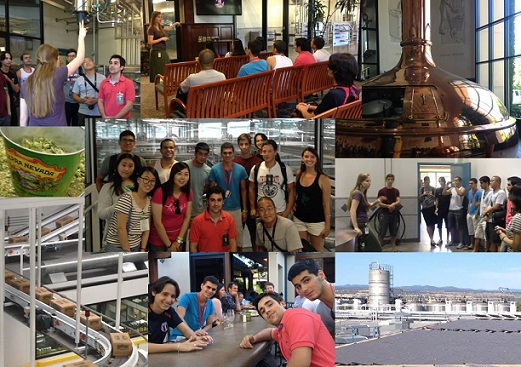 ALCI Students Tour of Sierra Nevada Brewery in Chico California