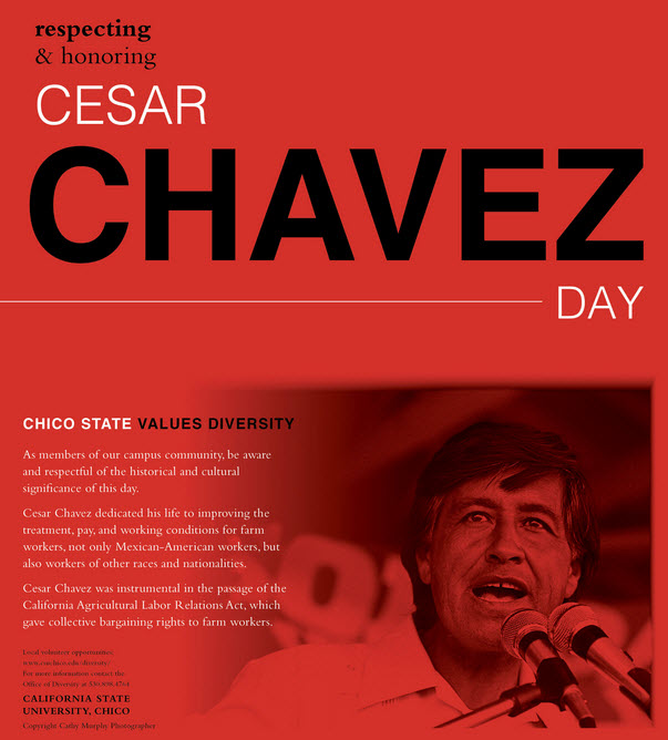 Cesar Chavez Day at Chico State 2015