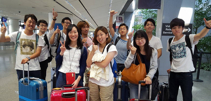 Shinshu University Students Welcome to Chico State!
