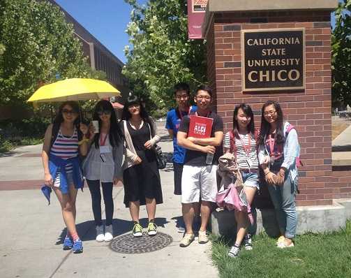 CYCU Students at Chico State California 2014