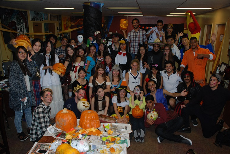 Happy Halloween at Chico State ALCI Chico Students Learn English in California