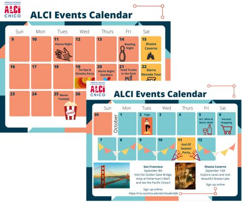 ALCI Student Activities and Events