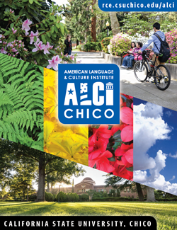 Download a copy of our program brochure to learn more about ALCI Chico.