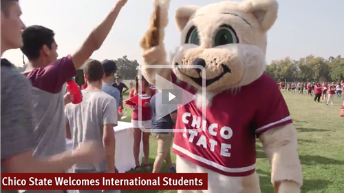 Chico State Welcomes International Students