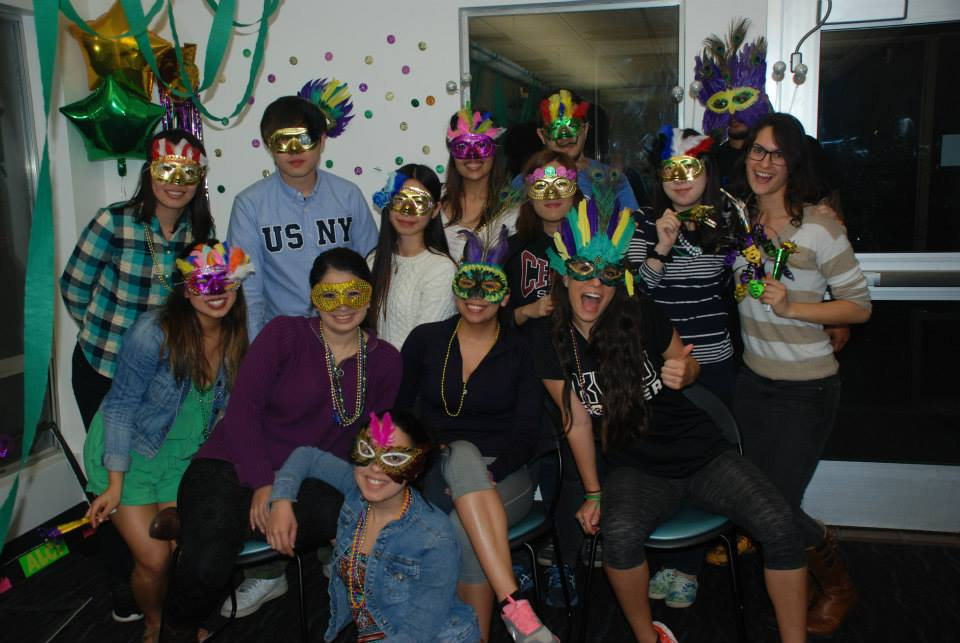 mardi gras photo at alci chico