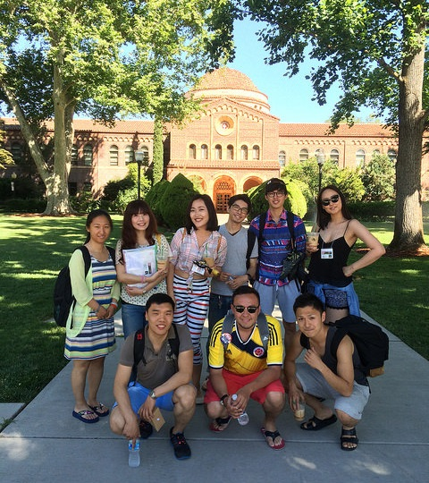 ALCI Chico July 2016 New Students at Chico State