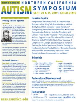 Image linked to Autism Symposium Flyer