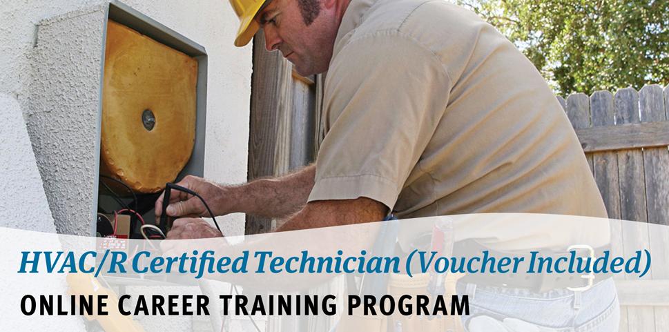 HVACR Certified Technician Online Career Training Program