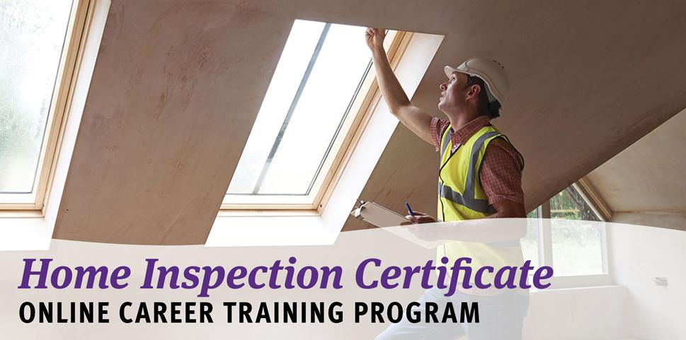 Home Inspection Certificate Online Career Training Program