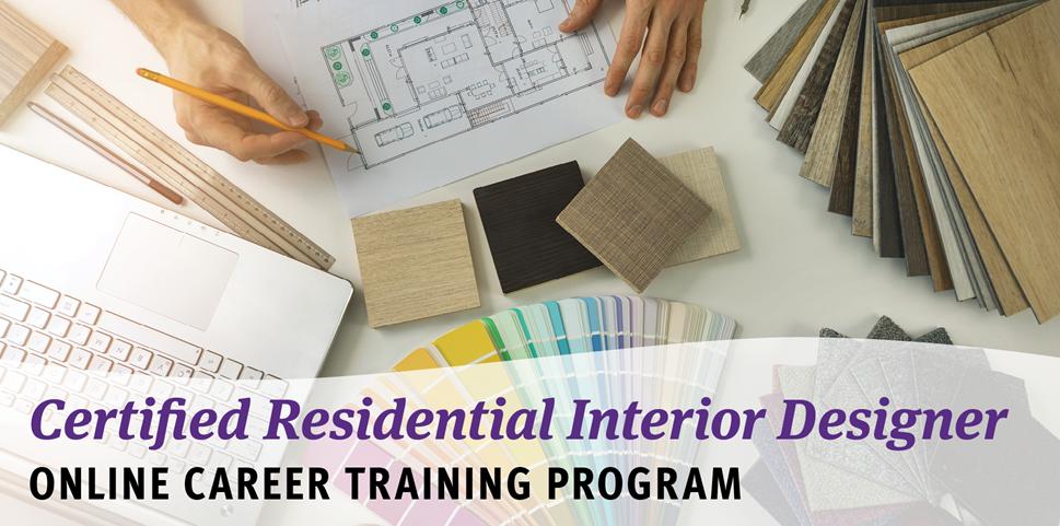 Certified Residential Interior Design Online Career Training Program