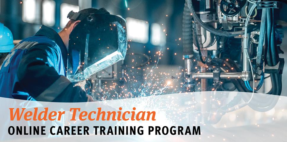 Welder Technician Online Career Training Program