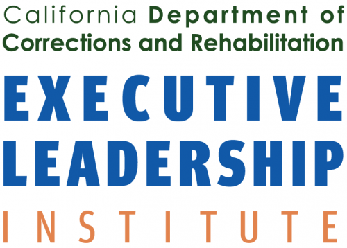 Logo: California Department of Corrections and Rehabilitation Executive Leadership Institute