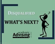 Academic Disqualification Workshop