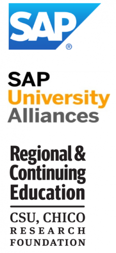 Logos: SAP, SAP University Alliances, Regional & Continuing Education