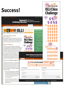 OLLI Chico Challenge! 2013-2014 Annual Campaign Success