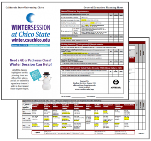 Winter Session Pathways Classes