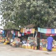 Market Stalls, The Gambia