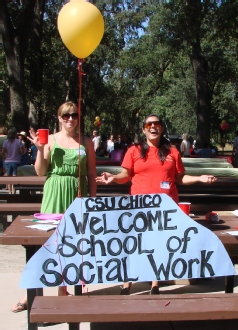 School of Social Work Students