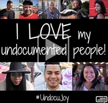 "Decorative: ""I love my undocumented people!"""