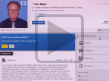 Using LinkedIn && Professional Networking (advanced)