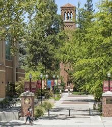 CSU Chico Promenade to Trinity Hall