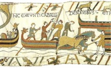 Bayeaux Tapestry Scene