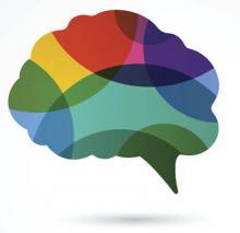 Conceptual illustration of a brain