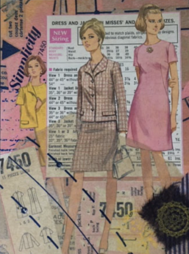 Photo of Finished Sewing Pattern Collage