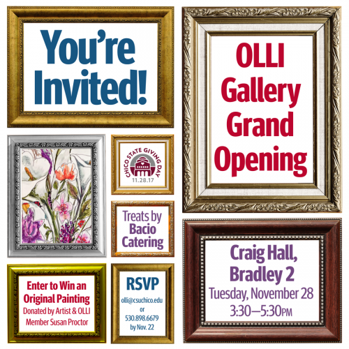 OLLI Gallery Grand Opening