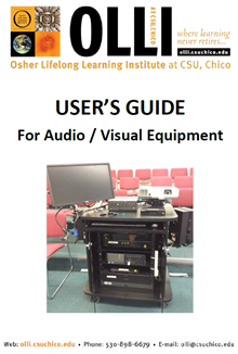 A/V User's Guide Cover