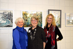 Guests at the OLLI Gallery Opening on November 28