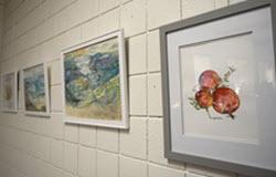 Original Works by Artist Susan Proctor Hang in the OLLI Gallery