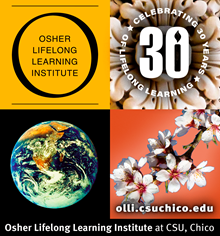 OLLI at CSU, Chico Spring Term Logo