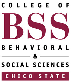 Logo: CSU, Chico College of Behavioral and Social Sciences
