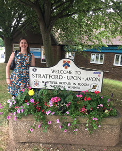 Chico State student visits Stratford Upon Avon