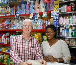 Tanzania - Dr Waters in Market