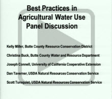 Decorative use: image from best practices in agricultural water use
