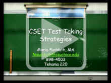 CSET Workshop