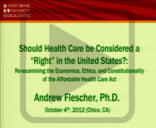 """Should Heath Care be Considered A """"Right"""" Play Button"""