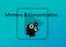 Watch Memory && Concentration presented by The Student Learning Center