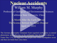 Decorative use: Image from Nuclear Accident presentation