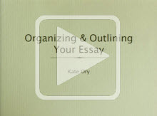 Organizing and Outlining Your Essay play button