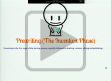Prewriting (The Invention Phase) play button