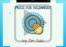 Prezi for beginners play button