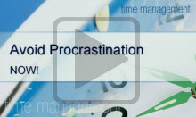 Watch the Avoiding Procrastination presented by the Student Learning Center