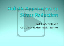 stress reduction