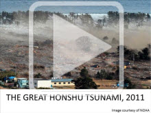 Decorative use: Image from tsunami presentation