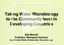 Taking Water Microbiology to the Community Level in Developing Countries